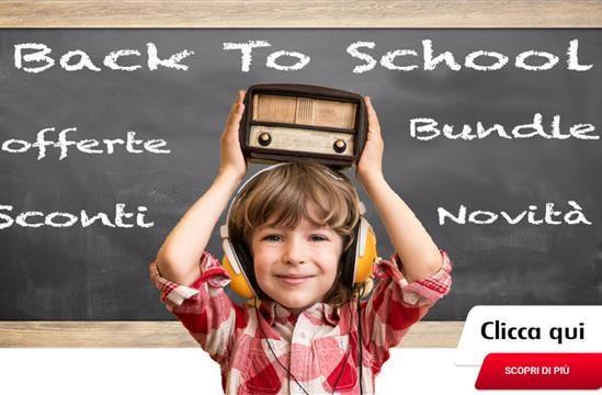 Dampi Back To School 2017: promozioni imperdibili per il rientro a scuola