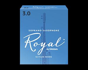 ROYAL 3 BOX 10 ANCE SAX SOPRANO
