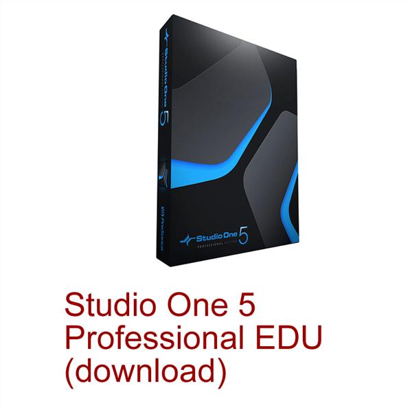 STUDIO ONE 5 PROFESSIONAL EDU (DOWNLOAD)