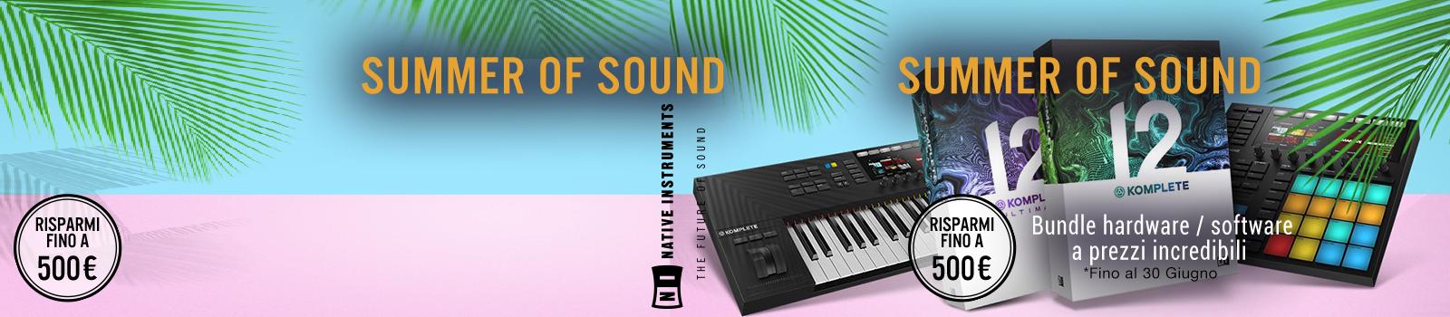 summer sound desk