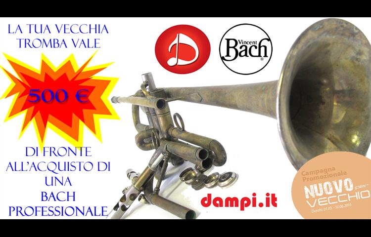 supervalutazione tromba bach