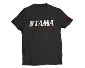 TAMT003L T-SHIRT LOGO BK RED
