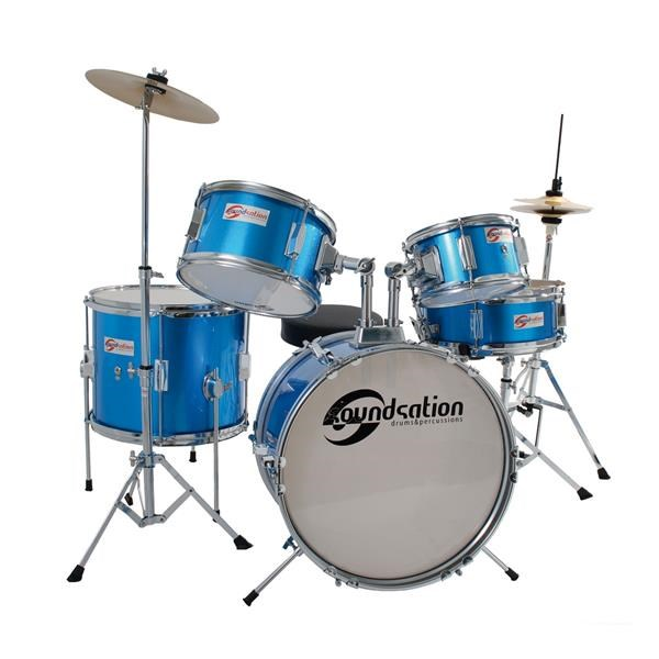 BATTERIA JUNIOR 5 PZ ELECTRIC BLUE