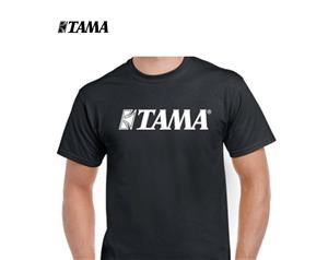 TAMT001 L T-SHIRT LOGO BK LARGE