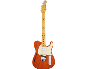 ASAT CLASSIC BLUESBOY SEMIHOLLOW CLEAR ORANGE