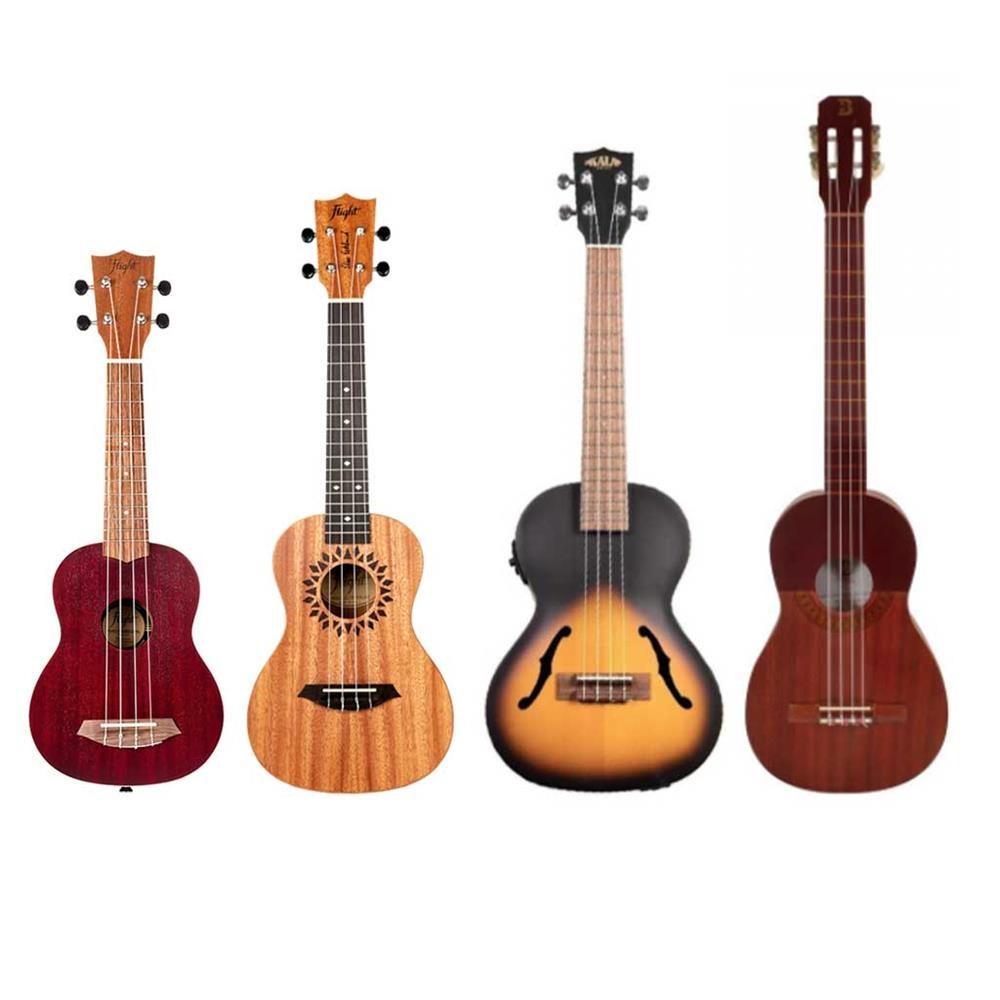 tipologie di ukulele