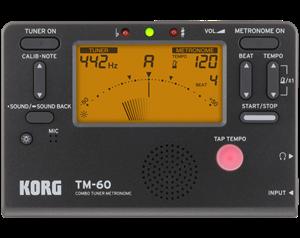 TM60 BK ACCORDATORE METRONOMO