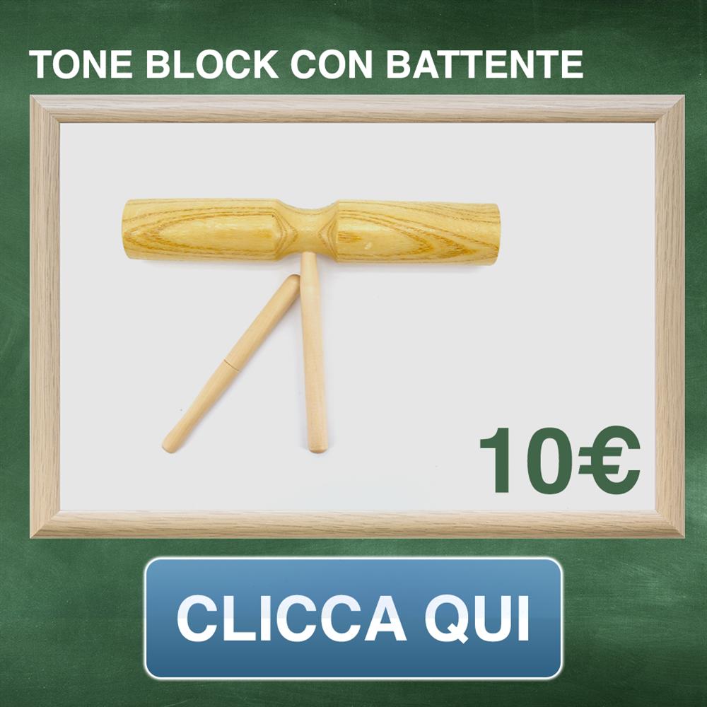 tone block con battente