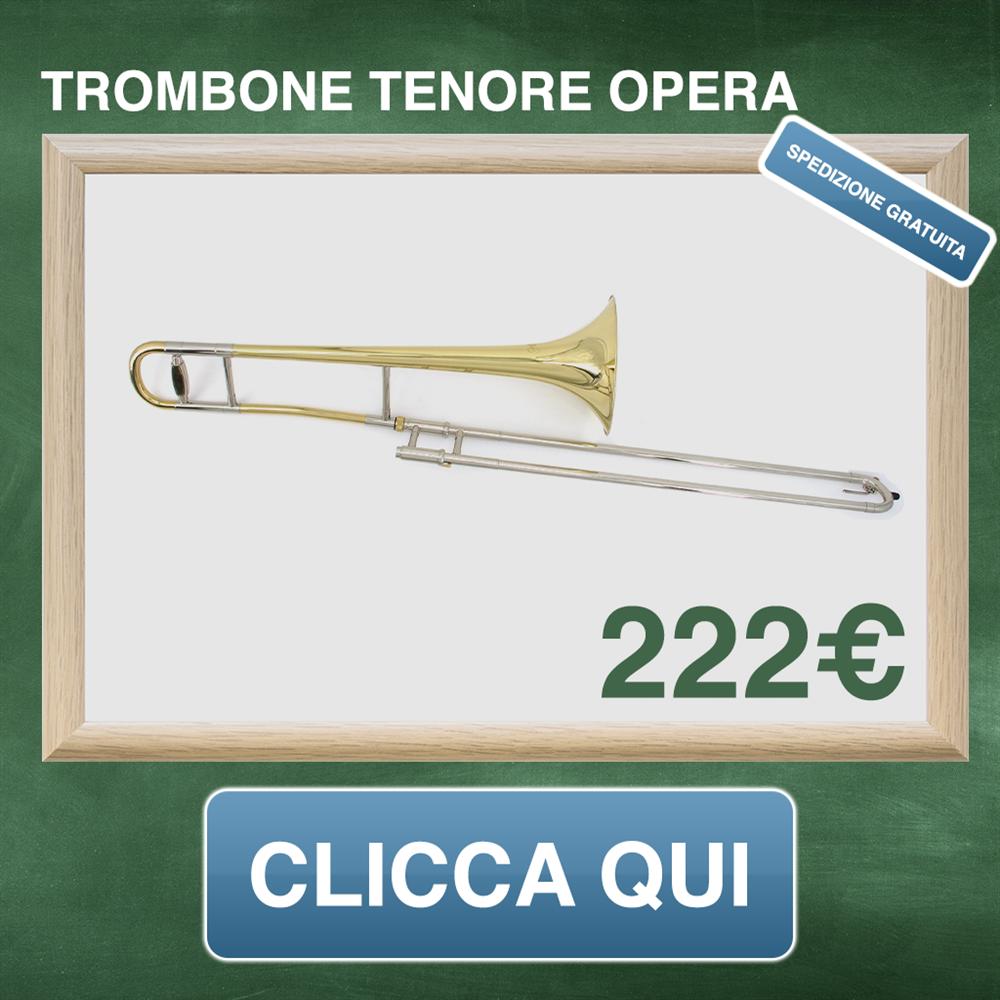 Trombone tenore laccato
