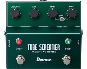 TS808DX TUBE SCREAMER OVERDRIVE + BOOSTER
