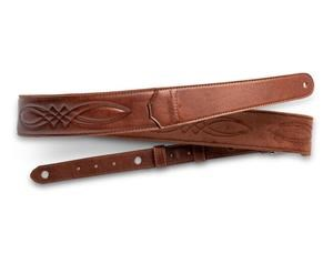 4201-20 VEGAN LEATHER MED BROWN STITCHING
