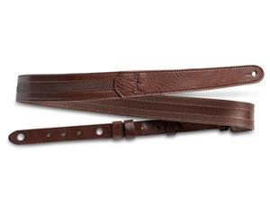 SLIM LEATHER STRAP CHOCOLATE BROWN