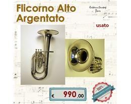 FLICORNO ALTO ARGENTATO USATO