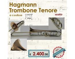 HAGMANN TROMBONE TENORE USATO