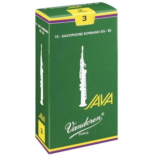 BOX 10 ANCE JAVA VERDI 2 1/2 SAXSOPRANO