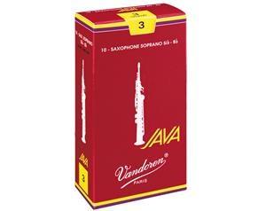BOX 10 ANCE JAVA RED 3 1/2 SAX SOPRANO