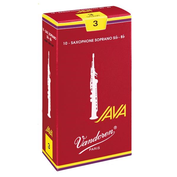 BOX 10 ANCE JAVA RED 3 SAX SOPRANO