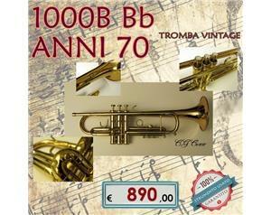 1000B BB ANNI 70 TROMBA VINTAGE