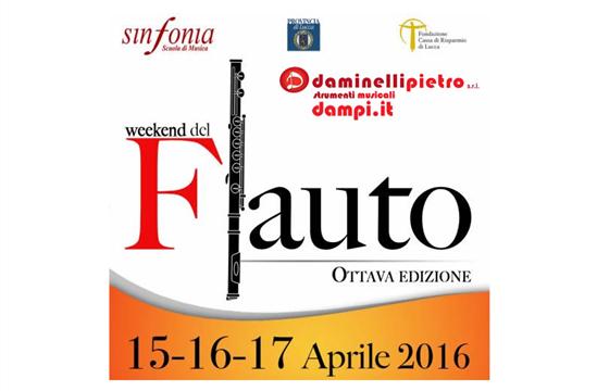 Daminelli Pietro S.r.l. presente al Weekend del Flauto a Lucca