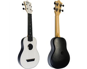 TUS35 ABS WHITE TRAVEL UKULELE