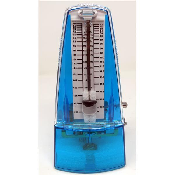 WSM330 TRANSPARENT BLUE METRONOMO