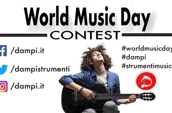 World Music Day: su Dampi il protagonista sei tu