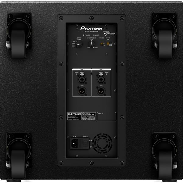 XPRS 115S SUBWOOFER ATTIVO 15