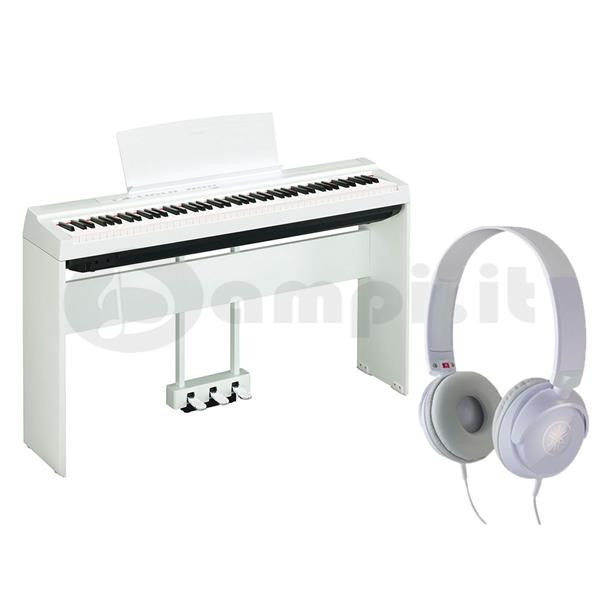 YAMAHA P 125 WHITE BUNDLE