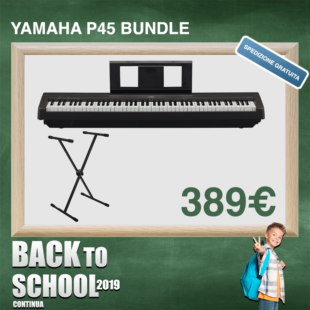 YAMAHA P45 BUNDLE
