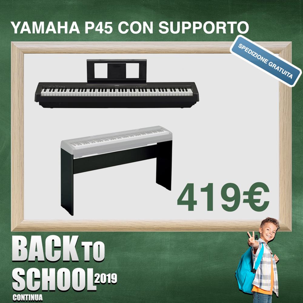 YAMAHA P45 CON SUPPORTO