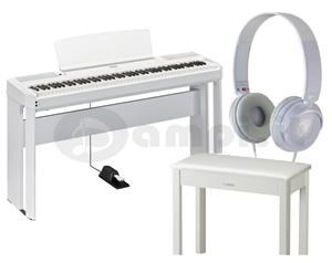 YAMAHA P 515 WHITE BUNDLE