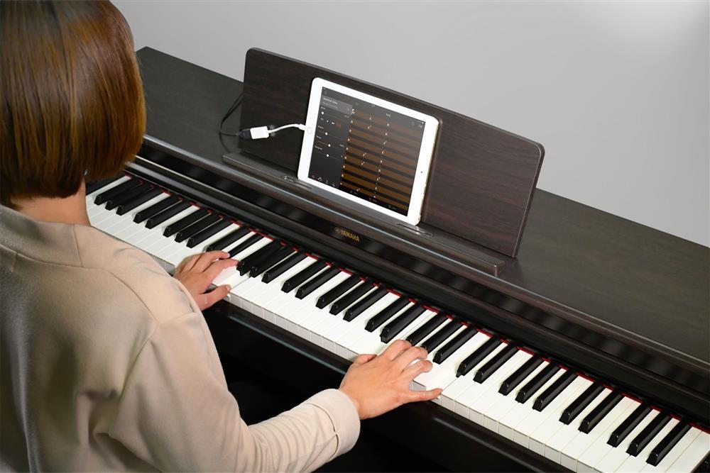 funzione smart pianist Yamaha Arius