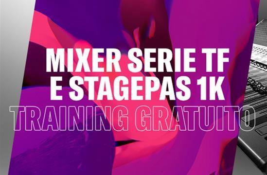 Yamaha Mixer TF e Stagepas : Training Gratuito