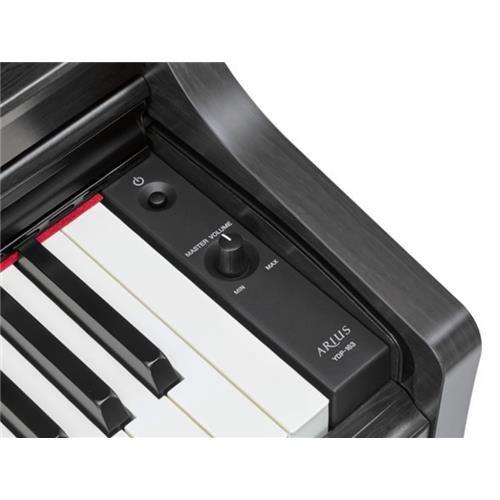 YDP163 B NERO SATINATO ARIUS PIANO DIGITALE