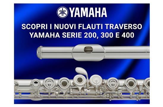 Nuovi flauti traverso Yamaha: innovazione al servizio del musicista