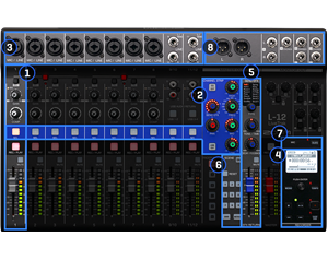 L20 LIVE TRACK MIXER DIGITALE