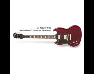 SG® G-400 PRO LEVEM CHERRY GUITAR