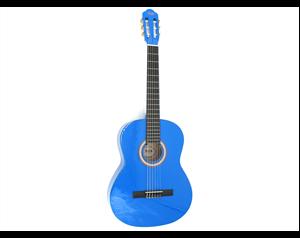 GW34BL 1/2 TOP BLUE CLASSIC GUITAR