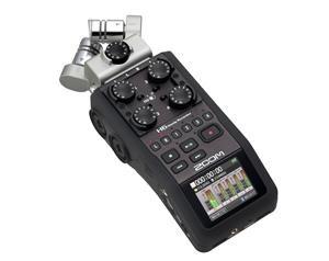 H6 - REGISTRATORE 6 TRACCE - INTERFACCIA USB C/SCHEDA SD 2GB INCLUSA