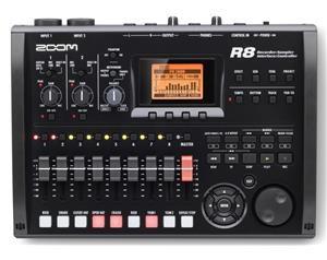 R8 - REGISTRATORE DIGITALE MULTITRACCIA C/SCHEDA SD 2GB INCLUSA